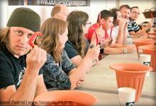 Chilli Eating Competition