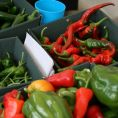 Fresh chillies for sale - Original Images